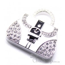 Handbag-Shaped Jewelry Designer USB Flash Drive 4GB