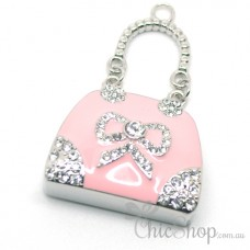 Pink Cute Handbag-Shaped Jewelry Designer USB Flash Drive 8GB