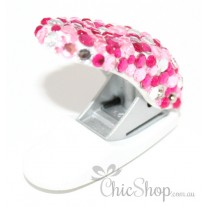 Pink & Bling Paper Single Hole Puncher