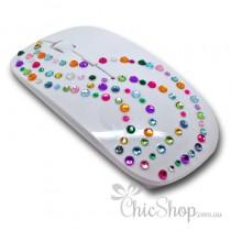 Crystal Diamonate Glitter Bling Wireless Computer Mouse