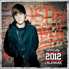 Official Justin Bieber Wall Calendar 2012