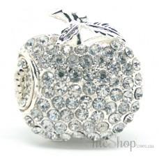 Apple-Shaped Jewelry Designer USB Flash Drive 4GB