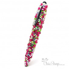 Crystal Diamonate Glitter Multicoloured Bling Pen