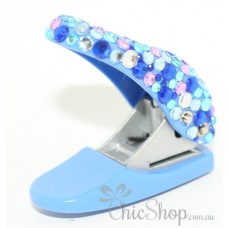 Blue & Bling Paper Single Hole Puncher