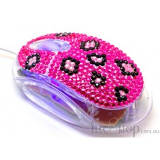 Crystal USB Optical Computer Mouse