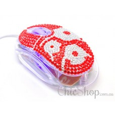 Crystal USB Optical Cool Computer Mouse