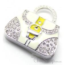 Handbag-Shaped Jewelry Designer USB Flash Drive 4GB