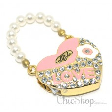 Pretty Heart-Shaped LOVE USB Flash Drive 4GB