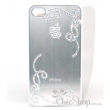 iPhone 4/4s Silver Cover / Case