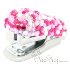 Pink Bling Cute Mini Stapler