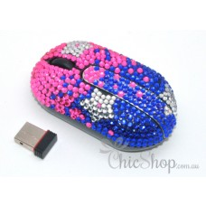Wireless Crystal Computer Mini Mouse