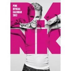 Official Pink A3 Wall Calendar 2012