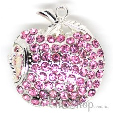 Apple-Shaped Jewelry Designer USB Flash Drive 4GB
