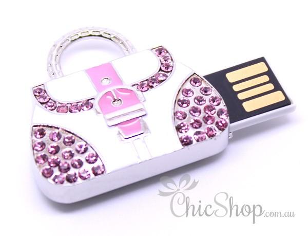 Handbag-Shaped Pretty Designer Cute USB Flash Drive 1