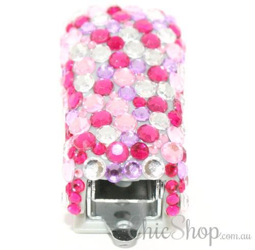 Pink Bling Cute Mini Stapler 1